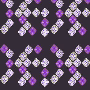 petal mosaic purple