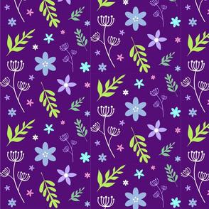 Purple Forest Flowers