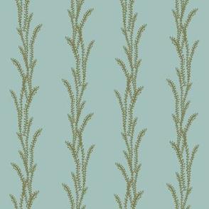 Seaweed Lines - Green, Blue