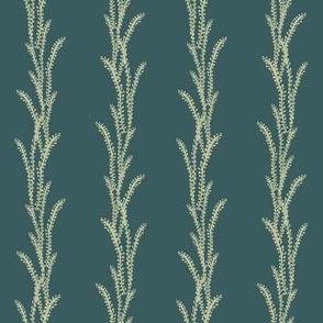 Seaweed Lines - Green, Teal