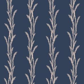 Seaweed Lines - Navy, Pink