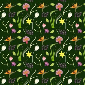 Nocturnal Spring Garden
