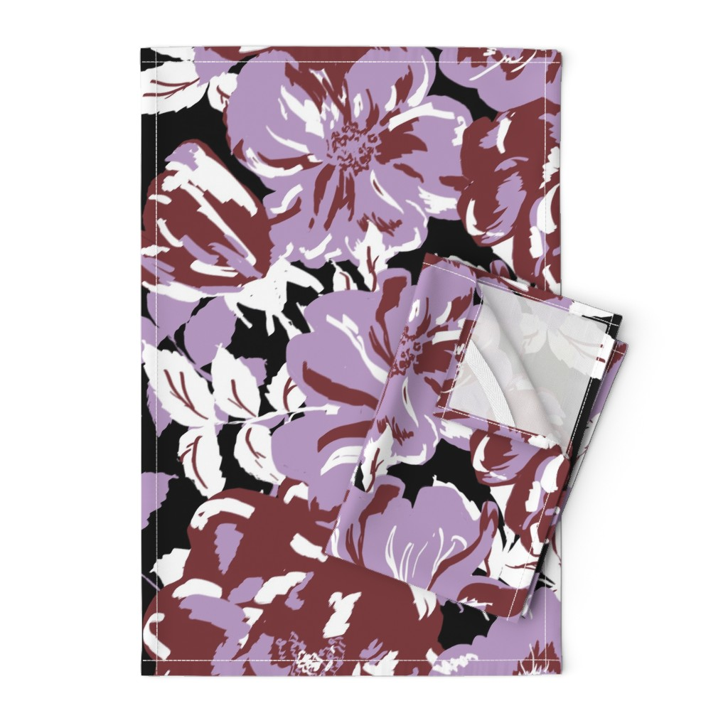Orpington Tea Towels featuring Wildroses by susanna_nousiainen
