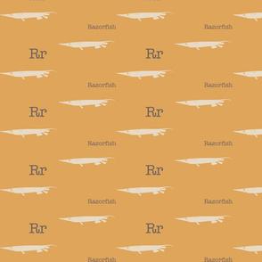 R is for Razorfish