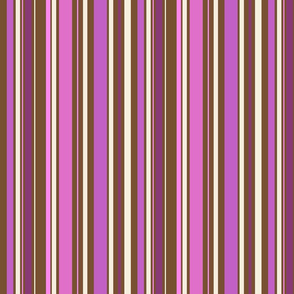 Striped to the pink