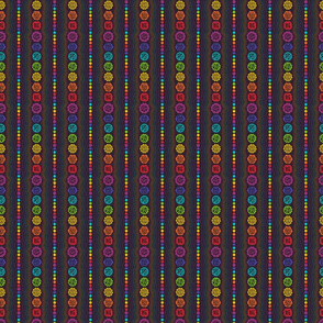 Rainbow Chakras: Small Scale