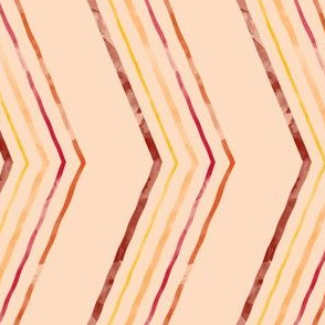 Painted Quirky Stripe (Retro)
