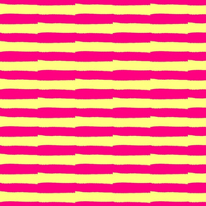 Mstari 5 Stripe in Pink Yellow & Brown