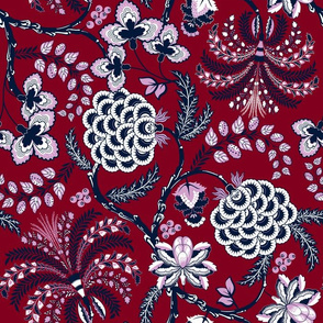 7262834-ancient-french-fabric-limited-palette-by-vannina