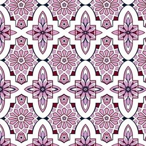Moroccan Lavender Tile // Marrakesh Tiles // Lilac Moroccan Tile Wedding Flowers