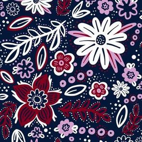 Orchid Limited Palette Floral