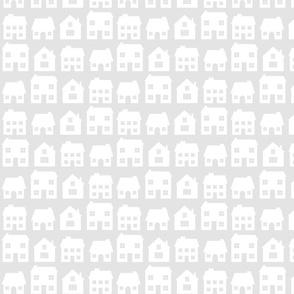 Little Scandi Houses in Grey