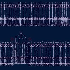 Stitched Gate-limited color palette