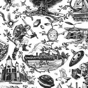 Hero of Time toile - Shadow Toile