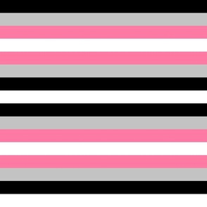 Demigirl Pride Stripes
