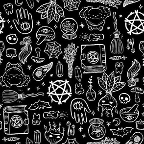Witchy Objects - Black
