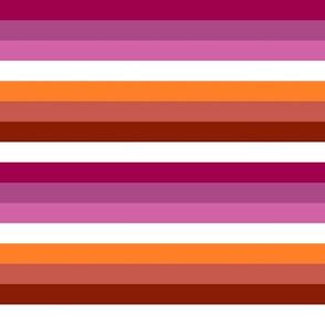 Lesbian Pride Stripes (Alternate)
