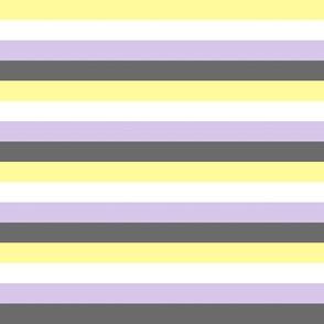 Enby pride stripes (lighter)