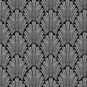 Deco Black and white