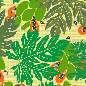 papayas [#1, true to nature colors]
