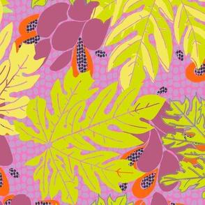 papayas [#6, pinks and brights]