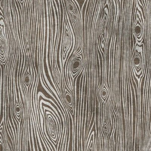 woodgrain handpainted dark with texture - driftwwod