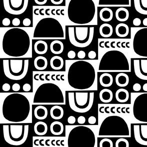 Monochrome Cutouts