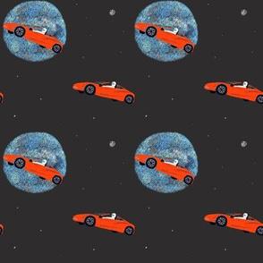 Starman // car in space