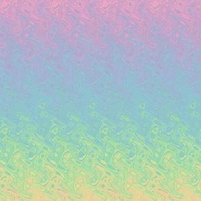 rainbow ripples pastel