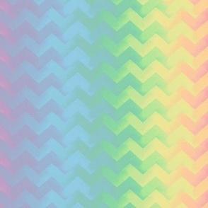 rainbow ric rac - pastel