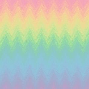 rainbow arrow stripe - pastel