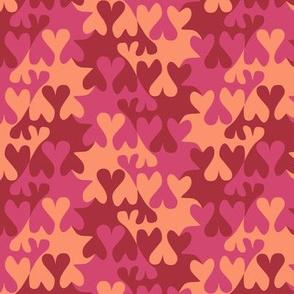 Tessellating Valentines Hearts