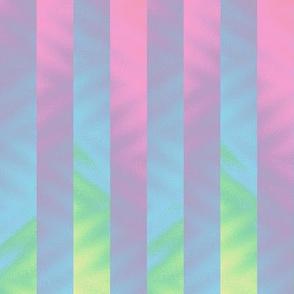 vertical rainbow stripe - pastel
