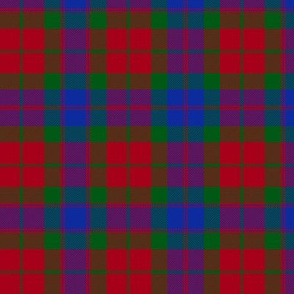 Fraser Stewart of Athol / Lovat / Inverness Fencibles tartan, 6""