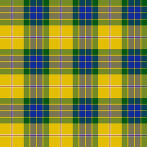 """Fraser yellow trade tartan, 6"""""""