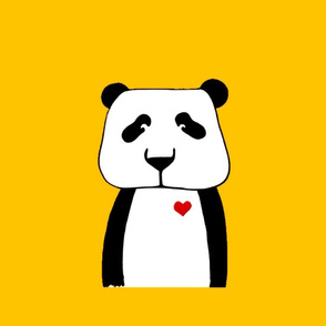 Panda pillow plushy