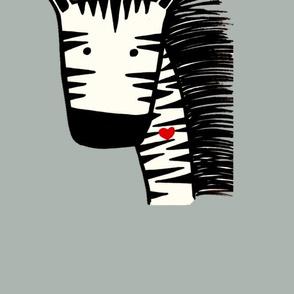Zebra cushion pillow