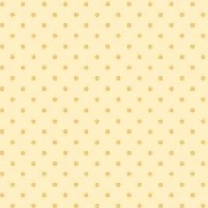 jungle polkadot yellow