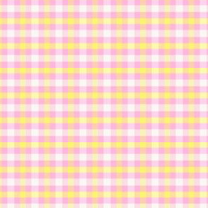 Little Pretty plaid pink