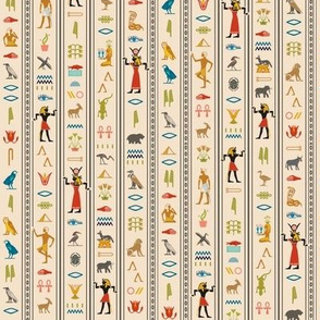 Hieroglyphics* (Jagger) || Egypt hieroglyphics birds nature symbols animals ankh dance African leaves pyramid