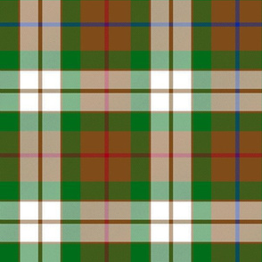 """Fraser hunting dress tartan, 12"""""""