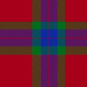 """Fraser of Boblainy tartan, 6"""""""