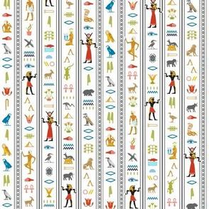 Hieroglyphics* (Sailboat) || Egypt hieroglyphics birds nature symbols animals ankh dance African leaves pyramid