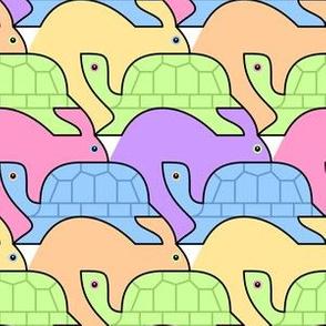 07279701 © tortoise v hare : rainbow