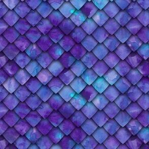 dragon scales - purple