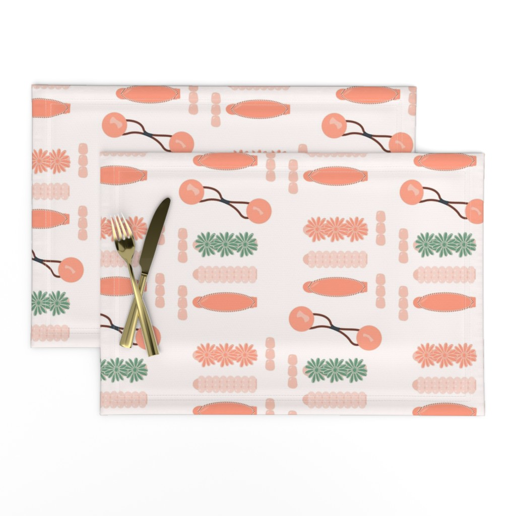 Lamona Cloth Placemats featuring Drippin' in Finesse by freethebold