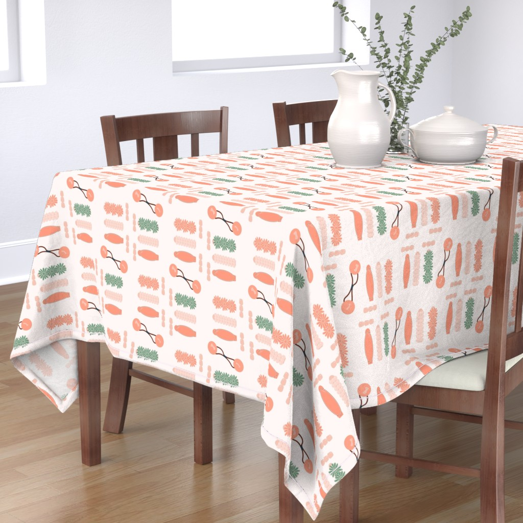 Bantam Rectangular Tablecloth featuring Drippin' in Finesse by freethebold