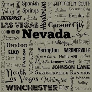 Nevada cities 2, taupe