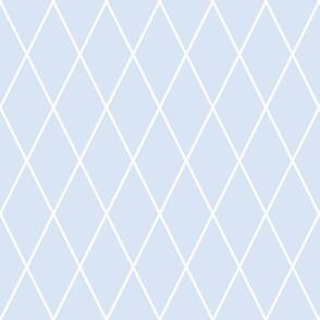 Clemmie's Lattice: Chambray Blues