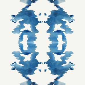 Large Ink Blot Stripe- E1